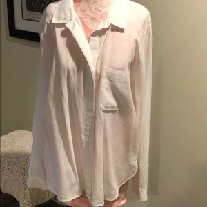 Anthropologie Cloth & Stone white blouse